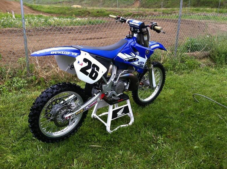 Vet 26 2006 YZ250 - vet 26's Bike Check - Vital MX