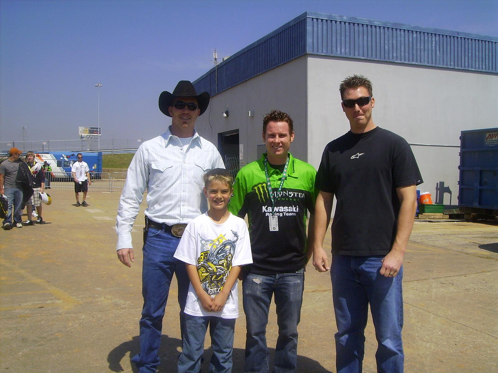 Me my bro and nephew and Reddog - Slim Bill - Motocross Pictures - Vital MX