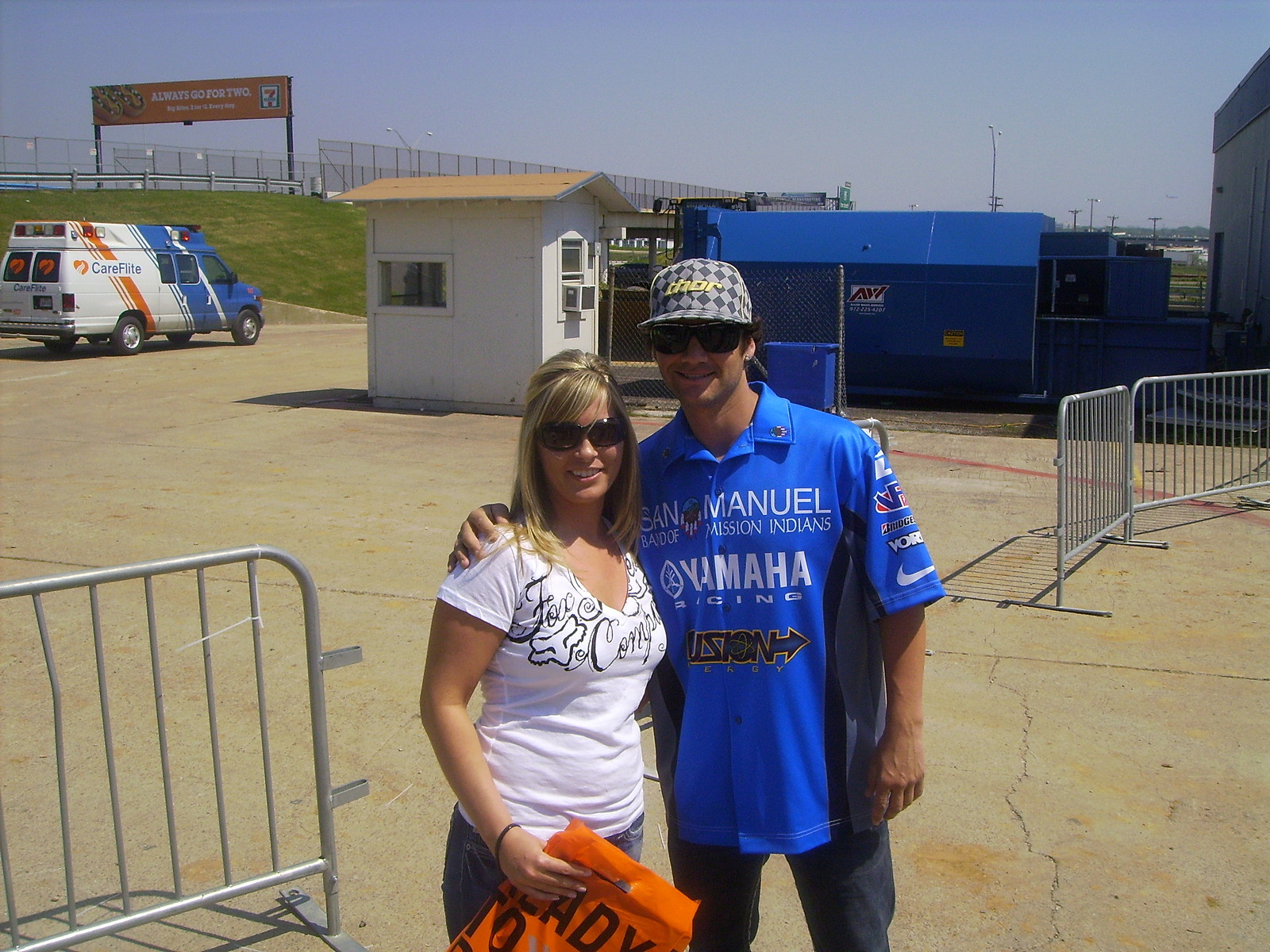 my wife and reed - Slim Bill - Motocross Pictures - Vital MX