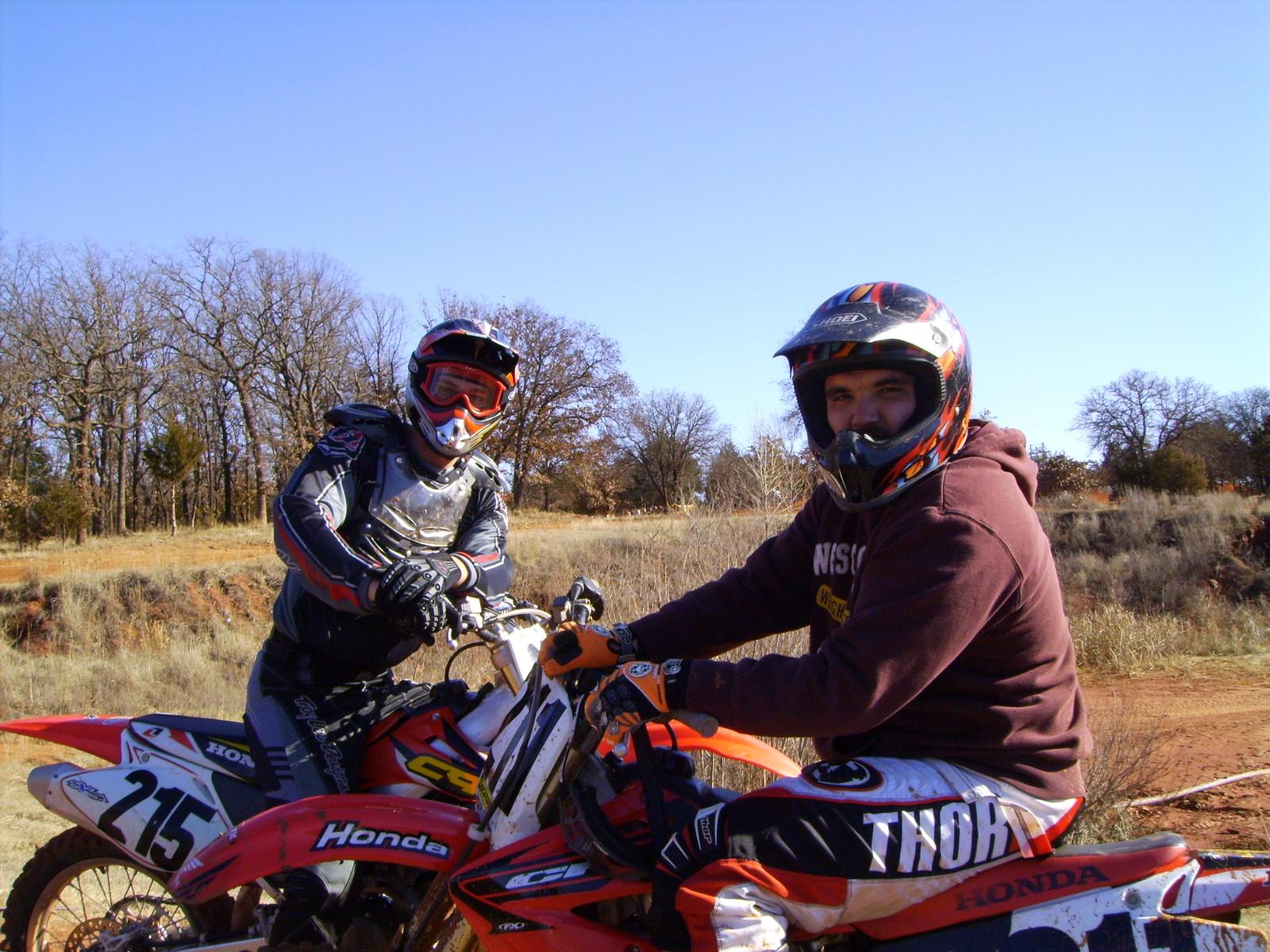 My friend Matt and I in 06 - Slim Bill - Motocross Pictures - Vital MX
