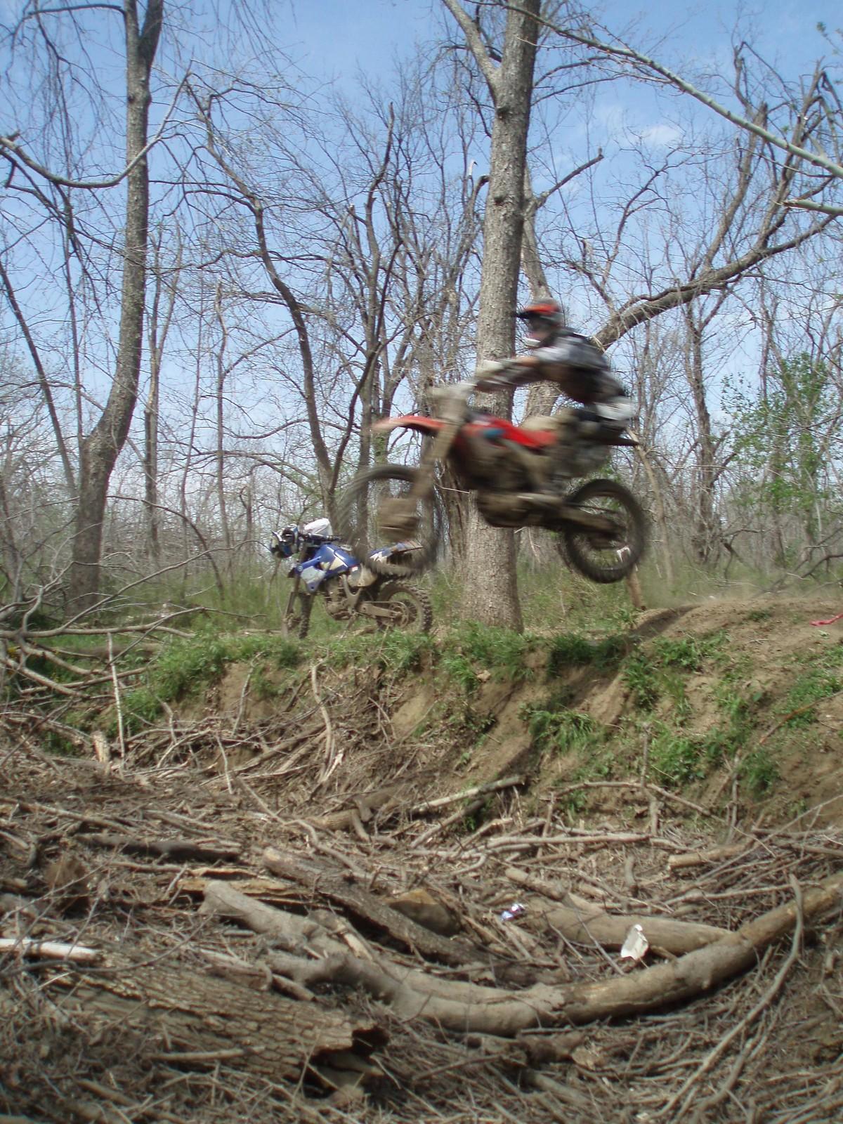 Skiatook Ok Race 08 small creek jump - Slim Bill - Motocross Pictures - Vital MX