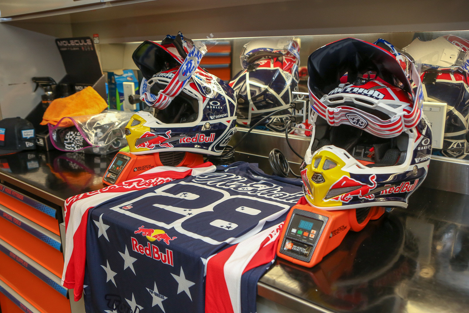 Shane McElrath and Alex Martin will be rocking red/white/blue and stars/stripes this weekend.