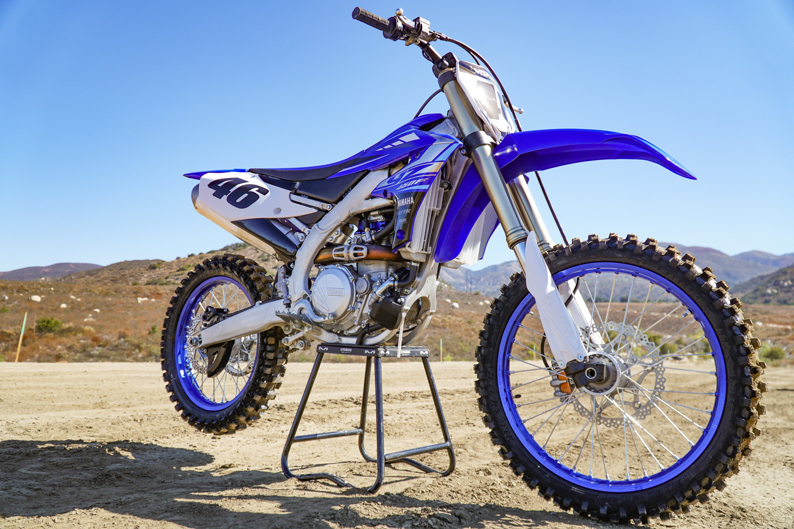 A whole lot is different on the YZ450F.