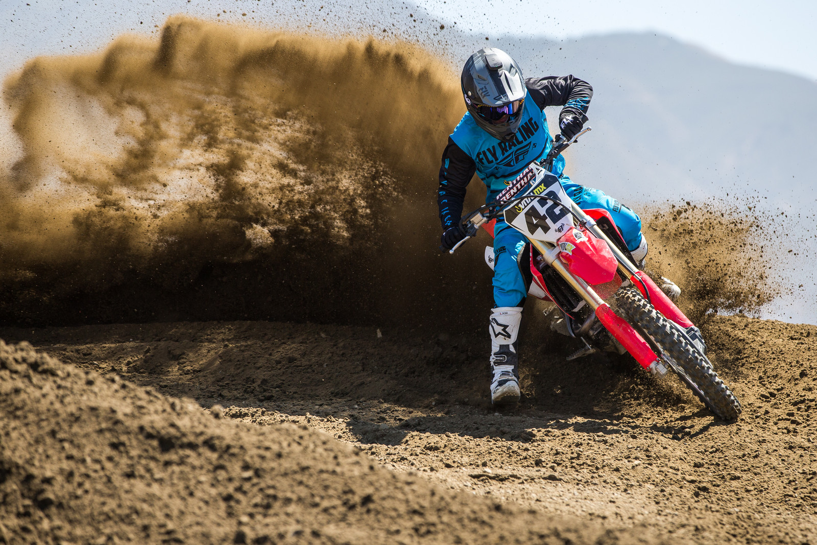 2018 Vital Mx 450 Shootout Motocross Feature Stories Crf Wiring Diagram I Felt Like Could Pick Up The Front End With A Blip Of Throttle And Let It Set Down In Rough Chop Off Camber Braking Bumps Or Into Rut Without